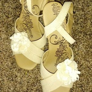 Jellypop wedge sandal, Andre style, side 6.5